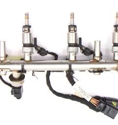 fuel injector set rail wiring harness 15 18 vw jetta mk6 1 8t  [ 1200 x 679 Pixel ]