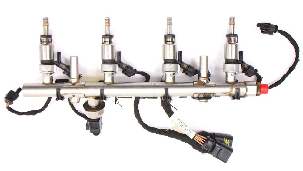 medium resolution of  fuel injector set rail wiring harness 15 18 vw jetta mk6 1 8t