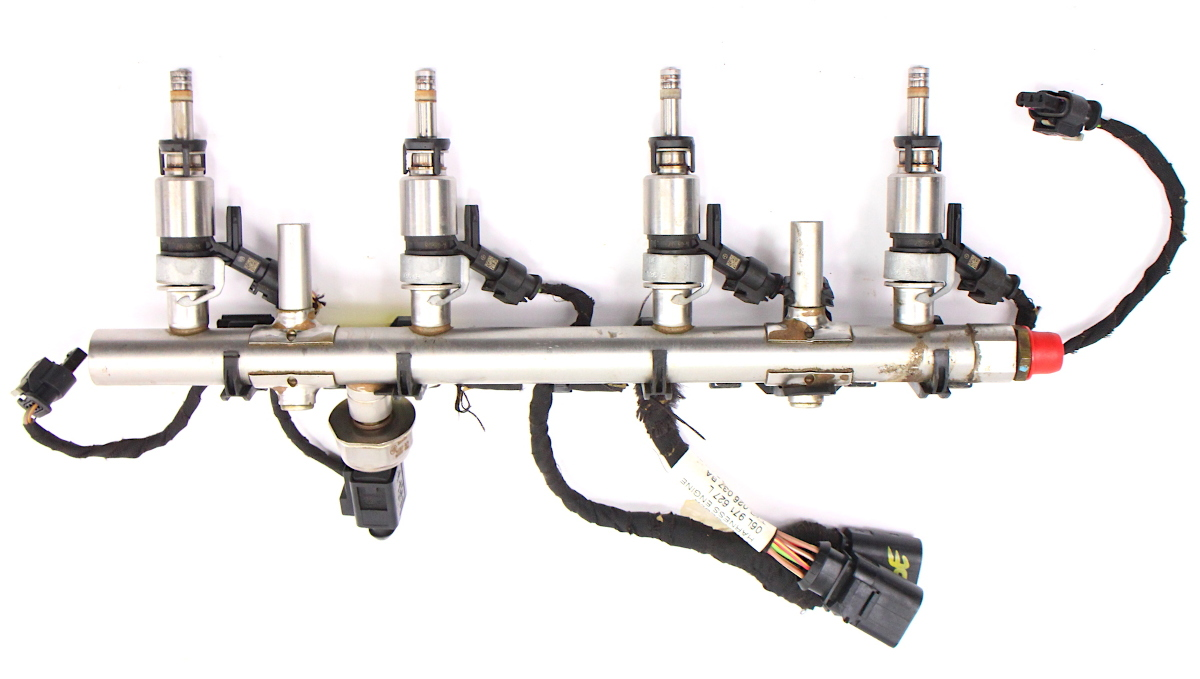 hight resolution of  fuel injector set rail wiring harness 15 18 vw jetta mk6 1 8t