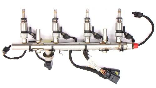 small resolution of  fuel injector set rail wiring harness 15 18 vw jetta mk6 1 8t