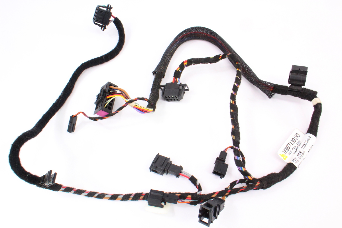 hight resolution of lh front power seat wiring harness 05 10 vw jetta mk5 1k0 971 391