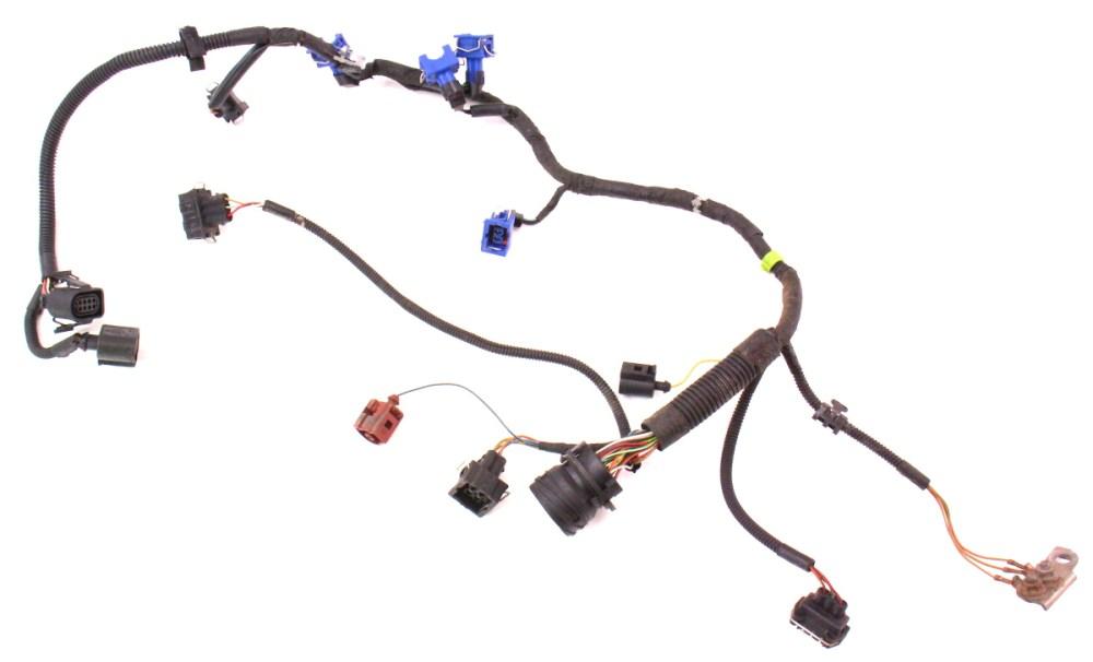 medium resolution of engine wiring injector harness vw cabrio mk obd aba engine wiring injector harness 99 02 vw