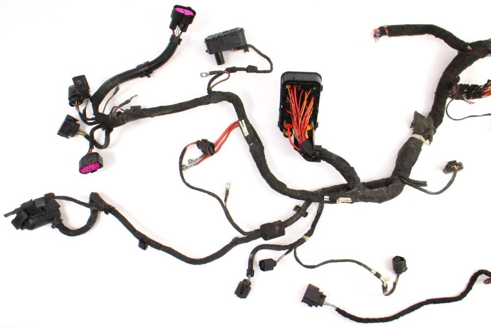 medium resolution of  2 0t engine bay ecu swap wiring harness 2007 vw gti mk5 2 0t fsi bpy