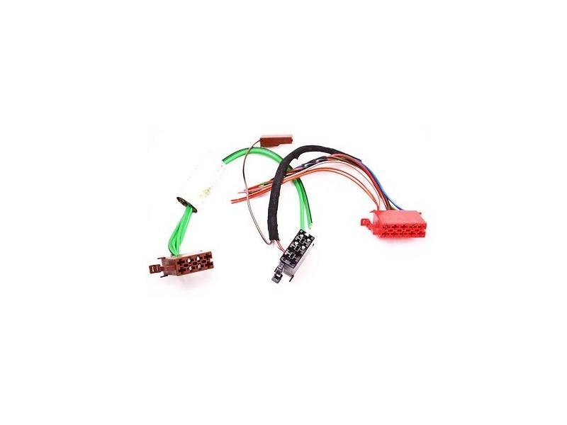 Radio Head Unit Wiring Plugs Connector Pigtail 88-92 Audi
