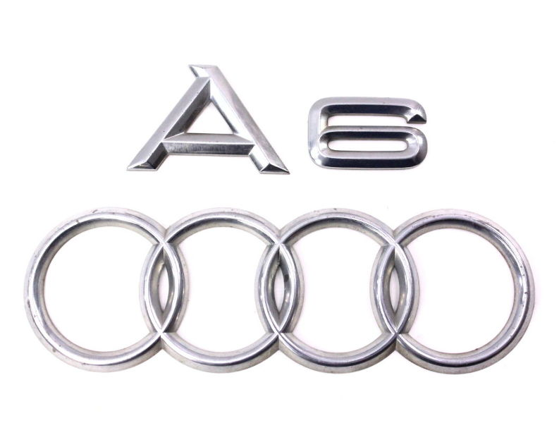 Rear Trunk Emblems Badges 98-04 Audi A6