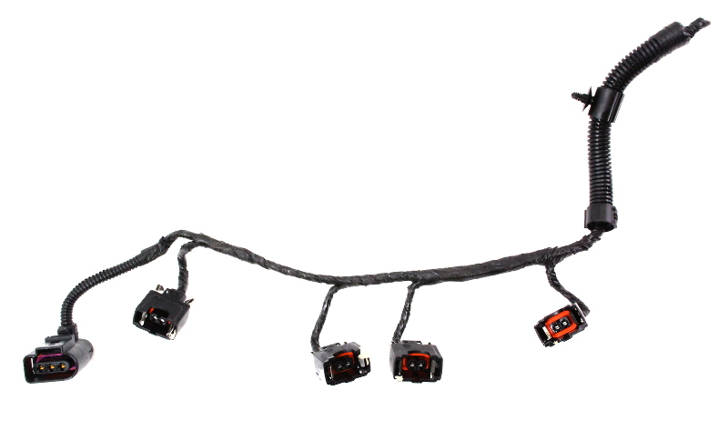 Injector Pigtail Plug Harness 2.0 VW 99-01 Jetta Golf Mk4