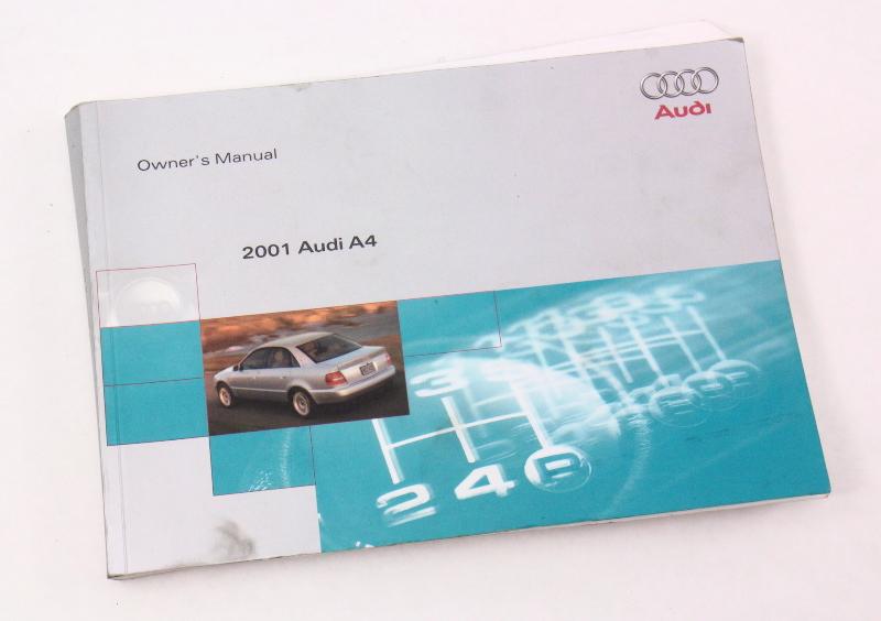 Ac 552 Ceiling Fan Wiring 2001 Audi A4 B5 Owner S Manual Case Operation Book Genuine
