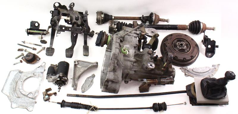mk1 golf ignition wiring diagram well pressure tank installation manual transmission swap parts kit vw jetta gti cabrio mk3 ~ 5 speed 2.0 aba