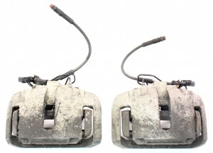 Front Big Brake Dual Piston Calipers & Carriers 0406 VW
