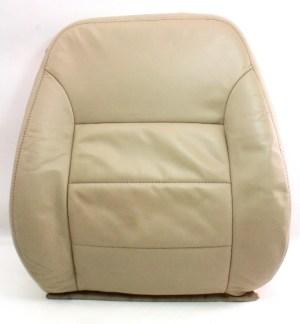 RH Front Seat Back Rest Cover & Foam 0205 VW Jetta Golf MK4  Beige Leather
