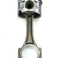 Mk4 Jetta Ac Wiring Diagram Jl Audio 12w6v2 Piston & Connecting Rod 04-05 Vw Golf Beetle 1.9 Tdi Bew 3 / 4 Genuine