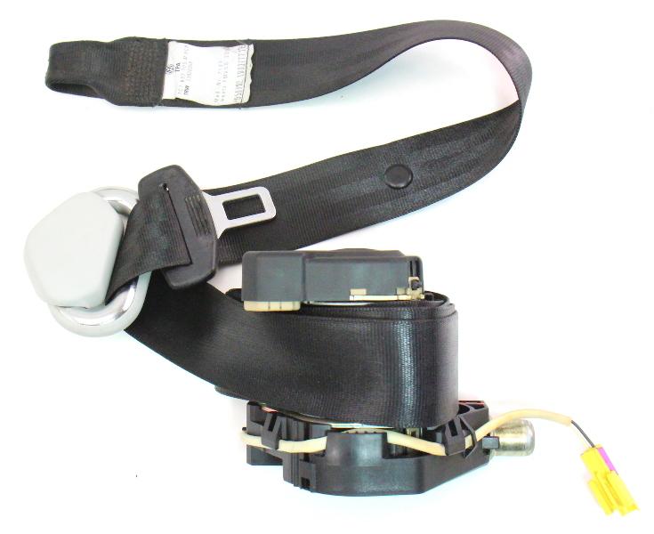 2002 jetta 1 8t radio wiring diagram 1963 chevy truck turn signal lh front seat belt 03-05 vw new beetle seatbelt black - genuine 1c1 857 705 m