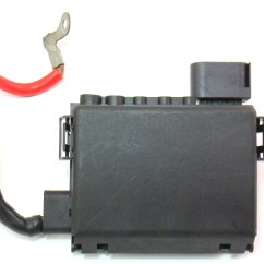 2002 Jetta Monsoon Radio Wiring Diagram Car Sound System Battery Fuse Box 99-03 Vw New Beetle Tdi Distribution Block - 1c0 937 549 B