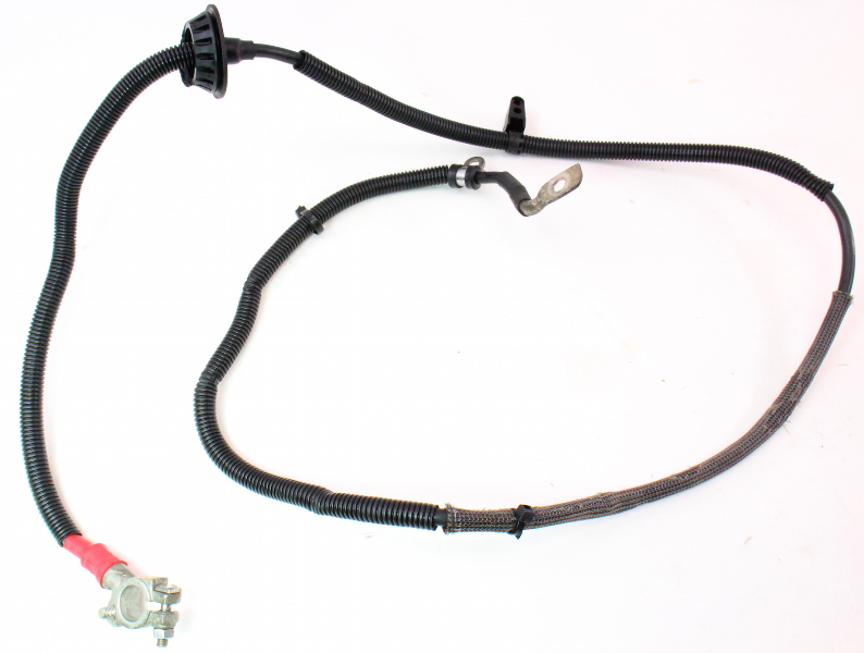 Positive Battery Cable Terminal Wiring Harness 05-08 Audi