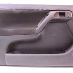 Mk4 Jetta Ac Wiring Diagram Menstrual Cycle With Ovulation Lh Driver Front Interior Door Panel 99.5-02 Vw Cabrio Mk3.5 - Black