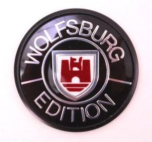 Genuine Wolfsburg Fender Emblem VW Jetta Golf MK2 Vanagon  321 853 675 B