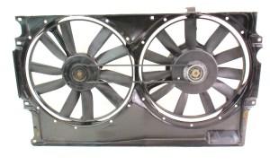 Electric Engine Radiator Cooling Fans VW Jetta Golf GTI Cabrio MK3 1HM 959 455 C