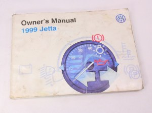 1999 VW Jetta Owners Manual Books & Case 9399 VW Volkswagen Mk3  Genuine