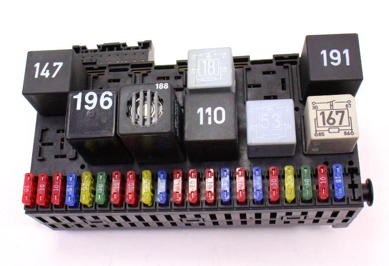 98 Jetta Fuse Diagram Dash Relay Board Fuse Panel Box Vw Jetta Golf Gti Cabrio