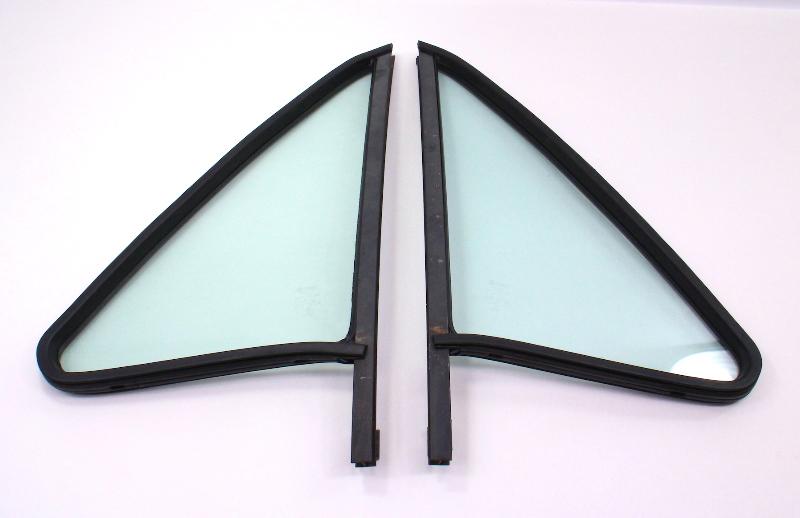 Non Vented Door Quarter Window Glass & Seal 75-84 VW