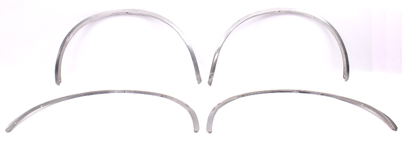 Chrome Fender Arch Flare Body Trim Molding Set 75-84 VW