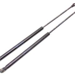 Vw Golf Mk5 Headlight Wiring Diagram Mercruiser Water Pump Hatch Strut Prop Shocks 99-05 Gti Jetta Passat Wagon - 1j6 827 550 E