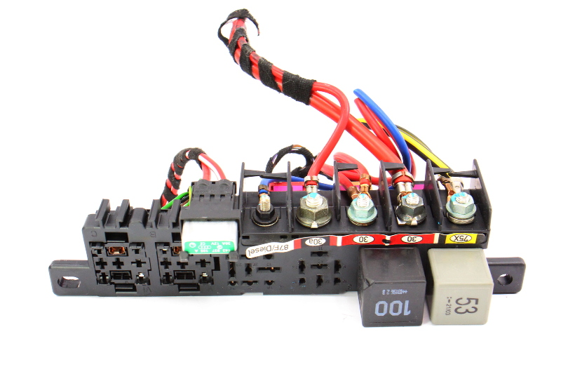 Dash Fuse Box Panel Wiring Harness Pigtail 0204 Audi A6 30