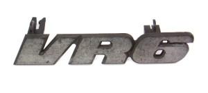VR6 Grill Grille Emblem Badge VW Jetta GLXI MK3  Genuine  1HM 853 679 J