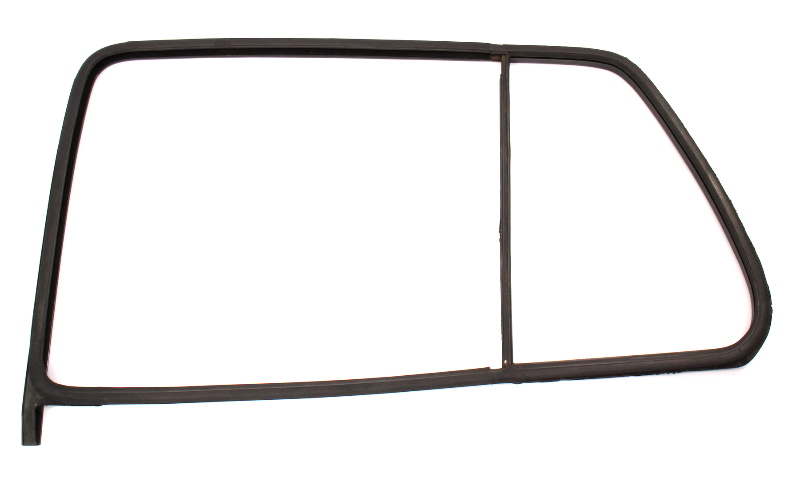 LH Rear Window Door Glass Rubber Seal 93-99 VW Jetta Golf