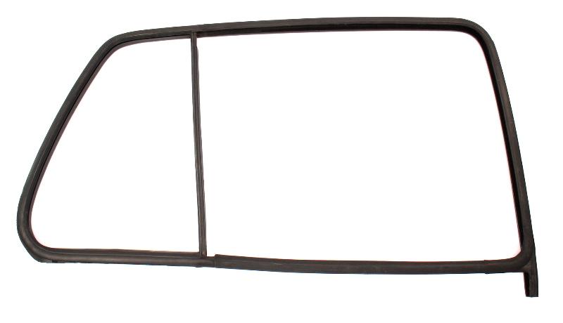 RH Rear Window Door Glass Rubber Seal 93-99 VW Jetta Golf