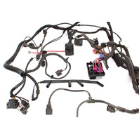 Engine & Engine Bay ECU Wiring Harness 2001 VW Jetta MK4 1