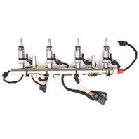 Fuel Injector Set Rail & Wiring Harness 15-18 VW Jetta MK6