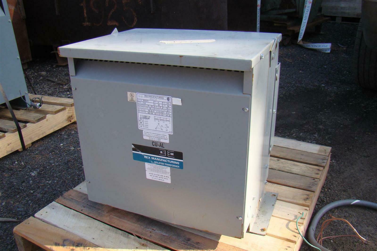 square d isolation transformer wiring diagram car sub rex manufacturing 14kva 3ph pri 460v