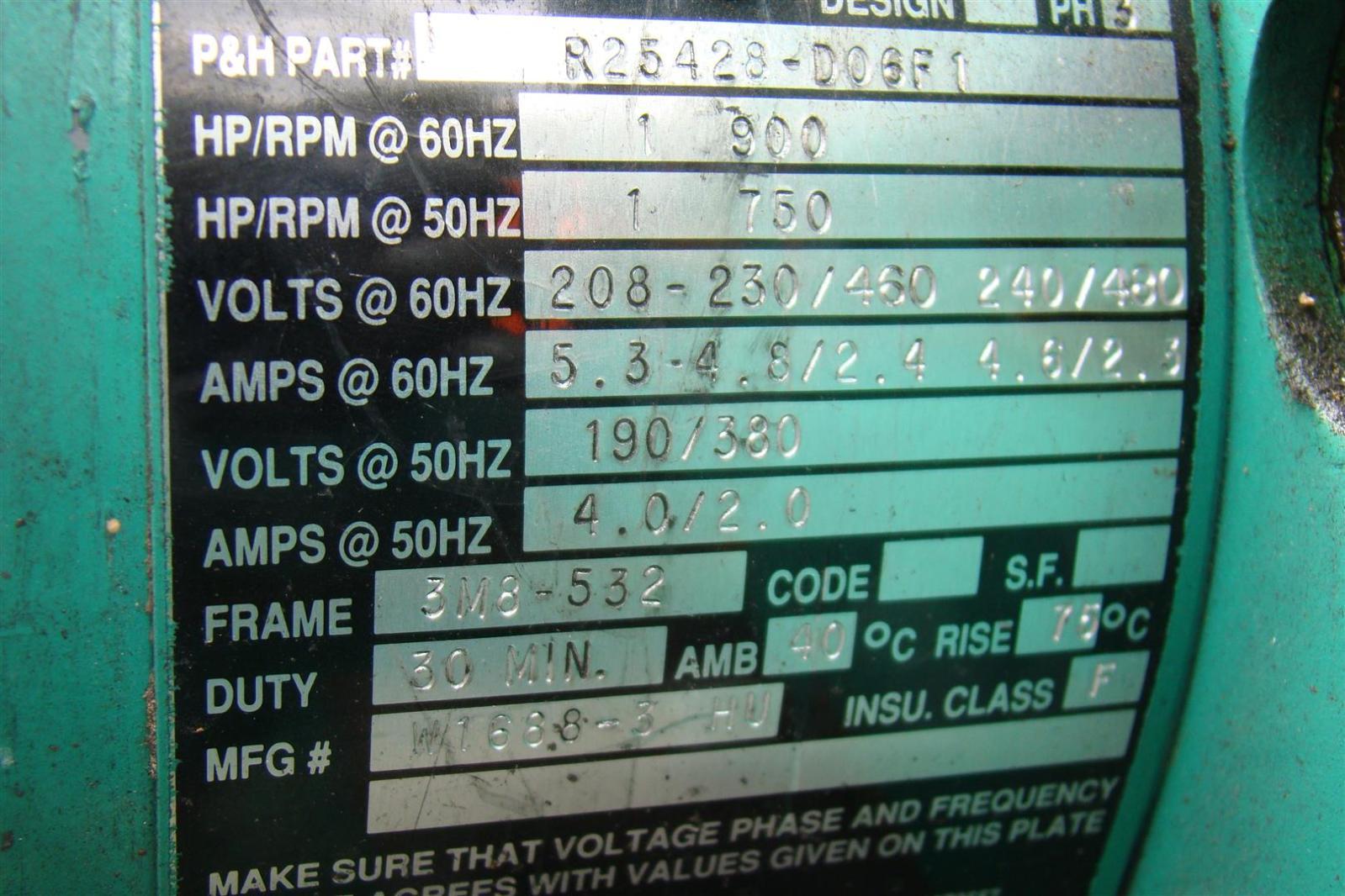10706 morris ph bridge crane 10000lbs 3ph 230 460v 20 fpm tp12293 n24jj11d 8?resize=665%2C443 dsr crane hi 6 wiring diagram conventional fire alarm wiring crane hi 6 wiring diagram at gsmx.co