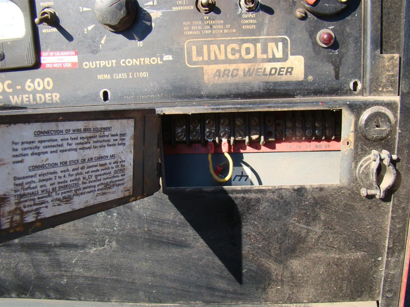 lincoln electric welder wiring diagram 12 lead three phase motor idealarc dc 600 30 images