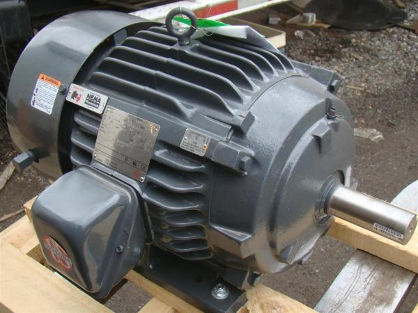 Motors Nidec 3 Phase Electric Motor 5 Hp 885 Rpm Model