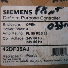 2 Pole Definite Purpose Contactor Wiring Diagram Bms Ebike Siemens Furnas 42df35aj 50a 3