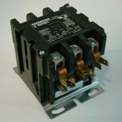 2 Pole Definite Purpose Contactor Wiring Diagram Bargman Siemens Furnas 42df35aj 50a 3