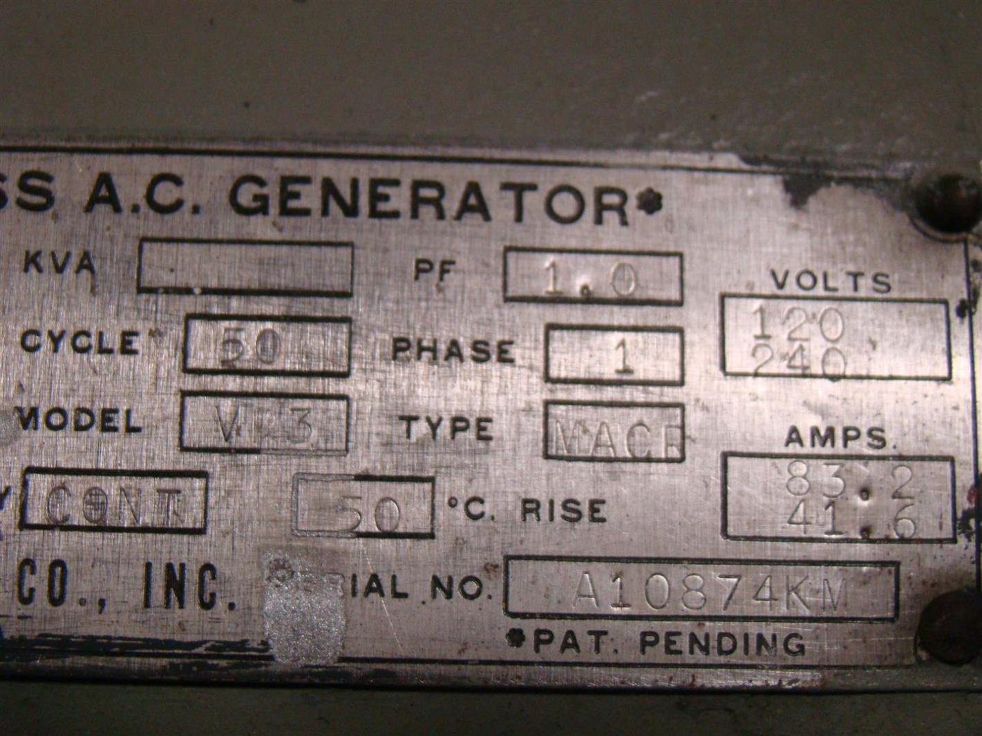 hight resolution of lima generator wiring diagram lima image wiring condec lima brushless ac generator 10kw 1500rpm ph1 120