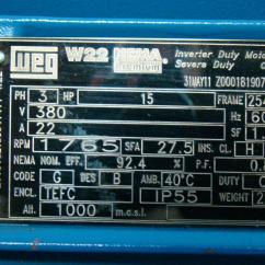 Weg W22 Motor Wiring Diagram Chemistry 12 Worksheet 1 2 Potential Energy Diagrams Answers Nameplate Impremedia