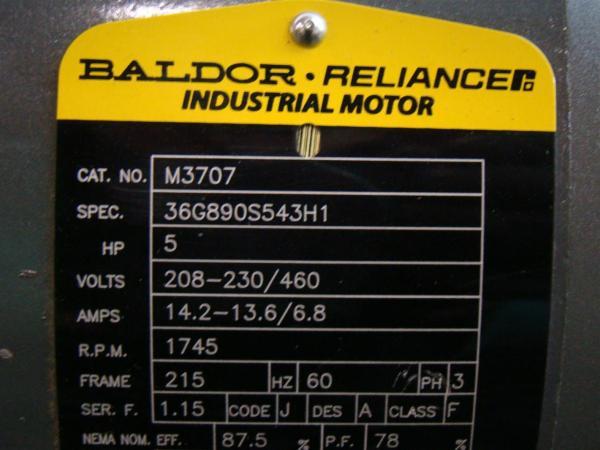 Baldor Reliance Motor Wiring Diagram Vbm T on