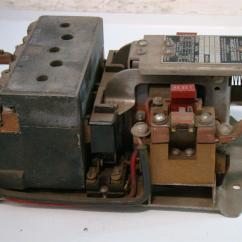 Square D 8536 Motor Starter Wiring Diagram Trailer Harness 7 Way Size 2 110 220v 1ph 4313 S3