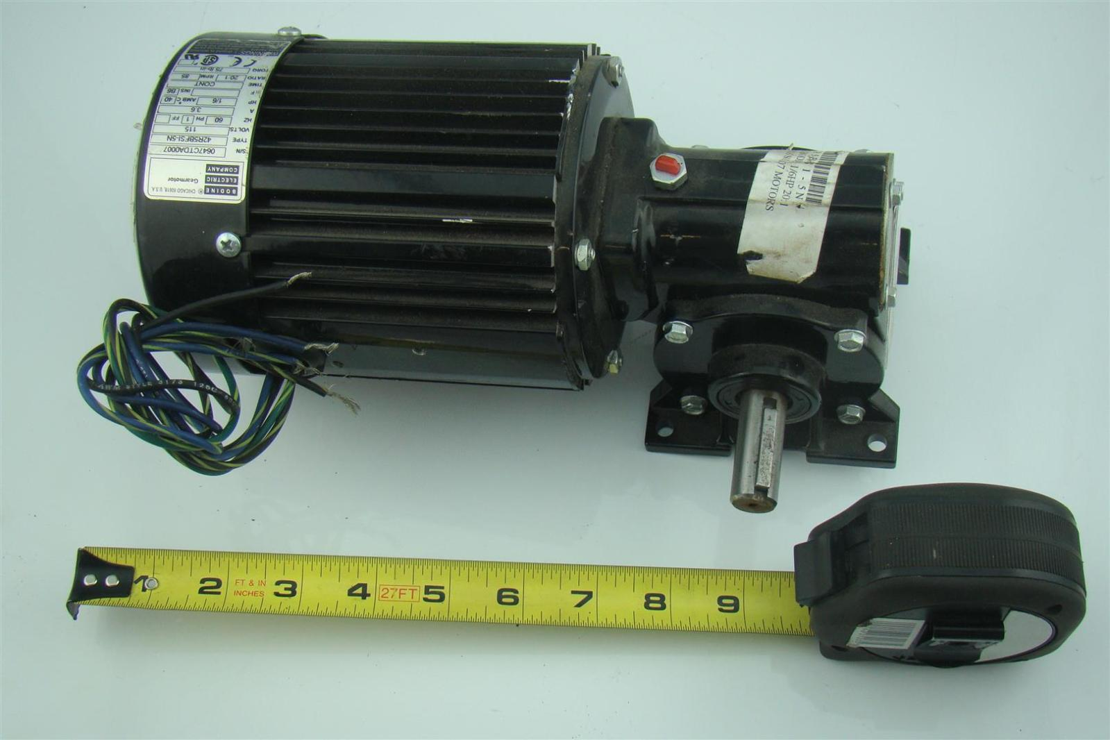 Bodine Electric Motor Wiring Diagram Bodine Electric Motor