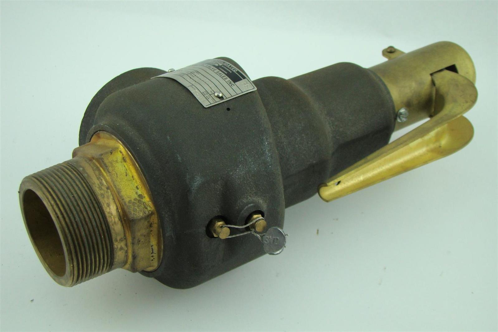 Dresser 2 safety relief valve Flow Control 1541H  Joseph