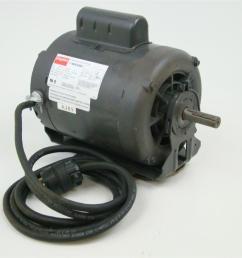 dayton single phase 1 2hp capacitor start motor 1725 rpm 115 208  [ 1599 x 1066 Pixel ]