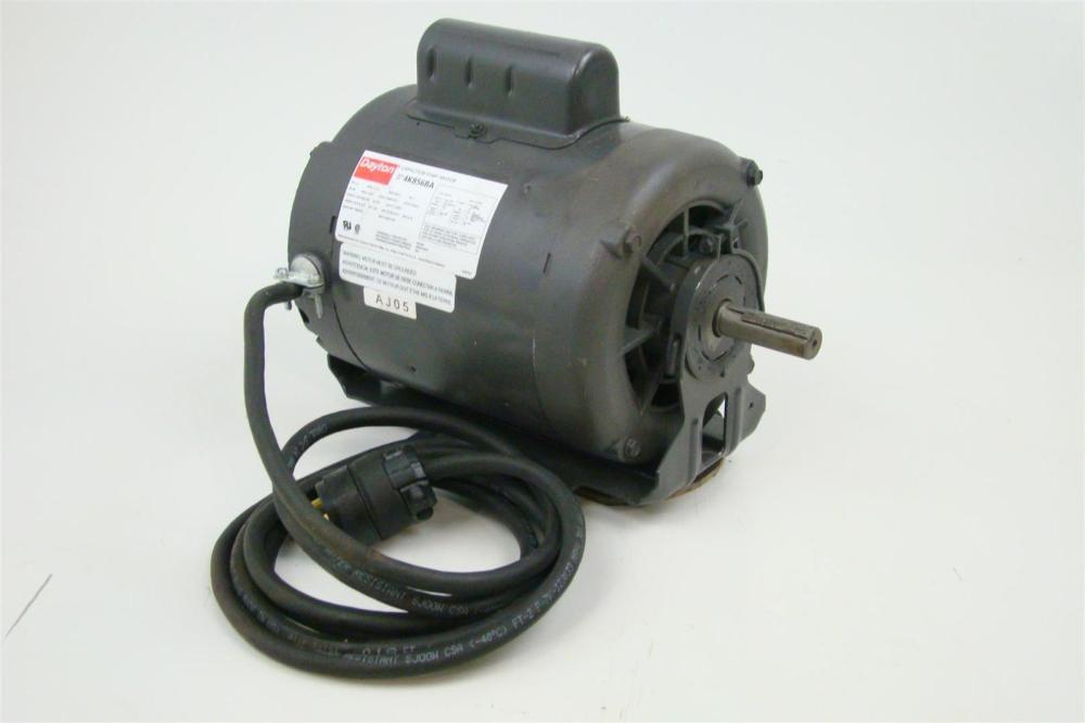medium resolution of dayton single phase 1 2hp capacitor start motor 1725 rpm 115 208