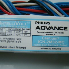 Philips T5 Ballast Wiring Diagram 2 Wire Alternator Replacement Led