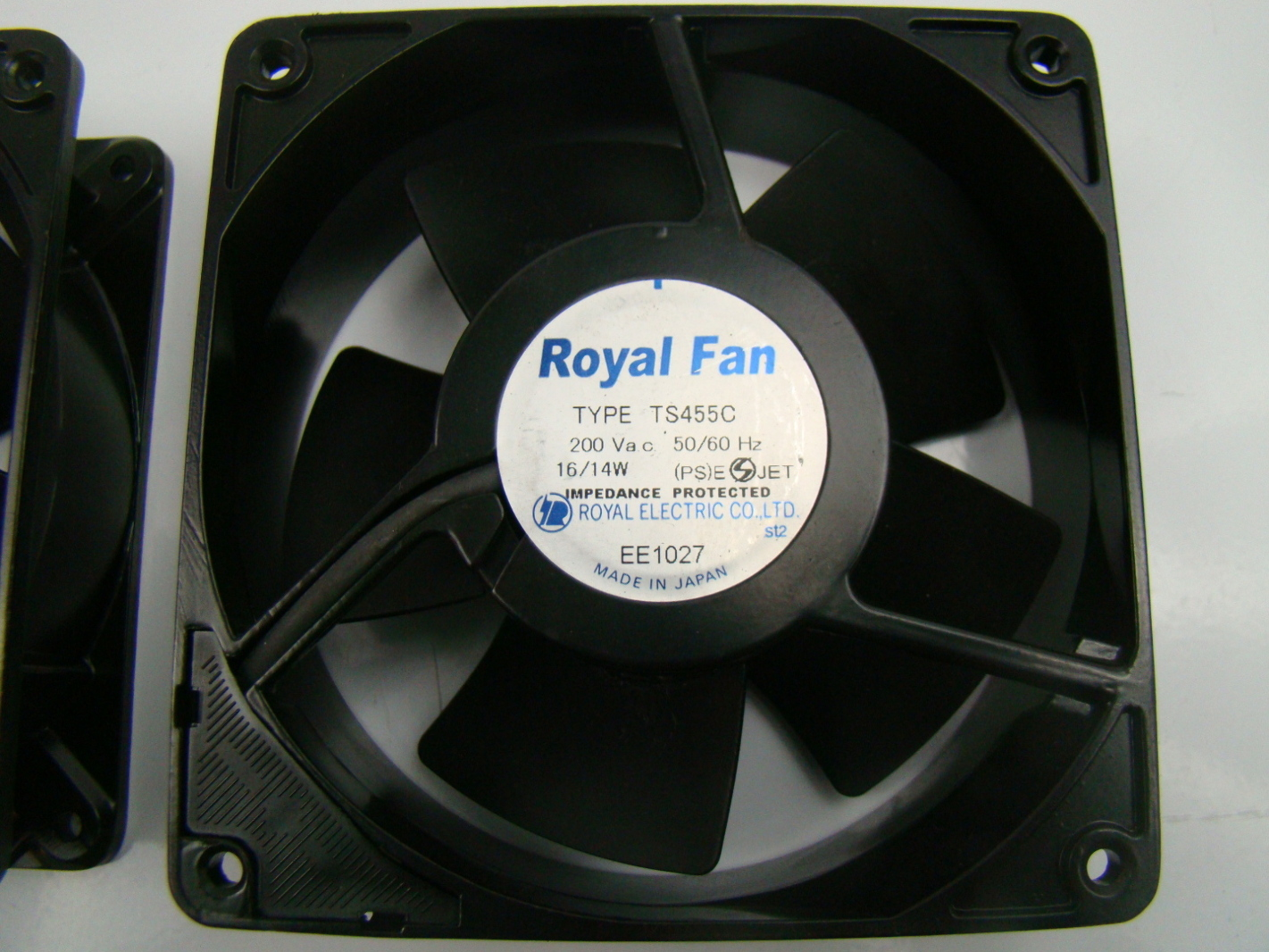 electric fan brands wiring diagram for a electrolux 3 way fridge royal 200 volt axial type ts455c