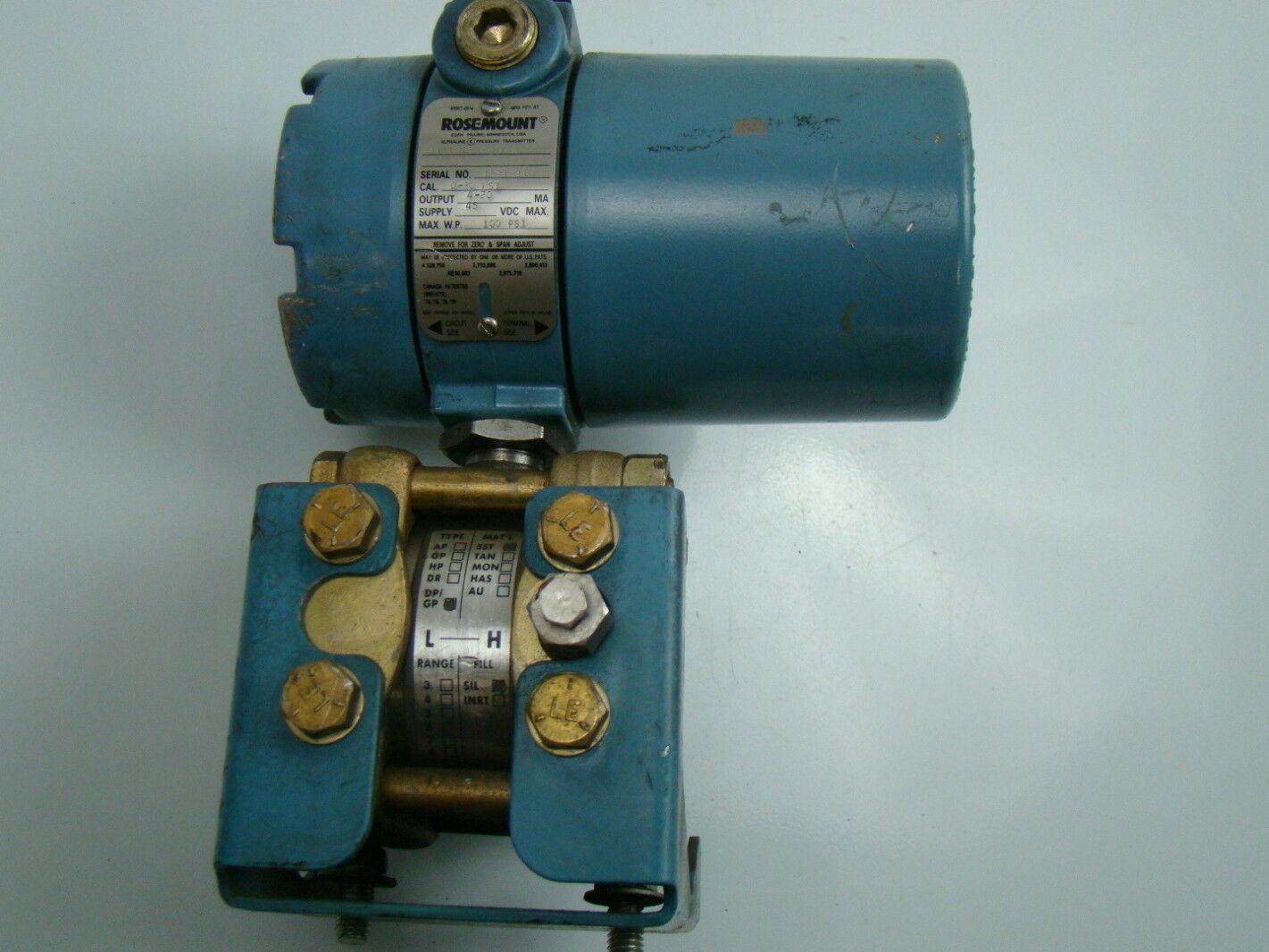 rosemount pressure transmitter wiring diagram microsoft visio workflow example 45vdc 100psi alphaline