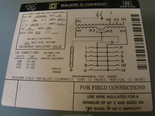 small resolution of square d single phase transformer wiring diagram wiring solutions square d 75 kva